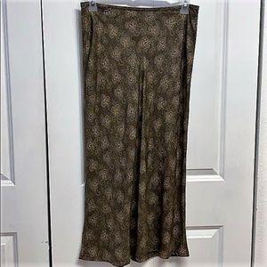 Gap Maxi Skirt Size 10 Paisley Print